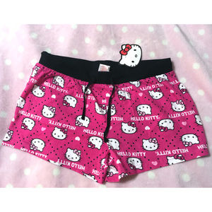 NWT Sanrio Hello Kitty Lounge Pajama PJ Shorts